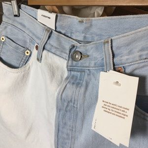 Levi's Jeans - Levi's 501 Two Toned Skinny Jeans NWT